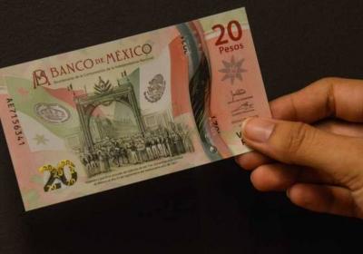 Nuevo billete de 20 pesos es puesto a circulacion